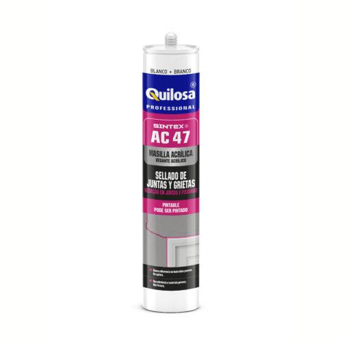 Акриловый универсальный герметик Кюлоза Синтекс АЦ-47 ( Quilosa Sintex AC-47 ) швы и трещины